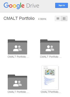 CMALT folder
