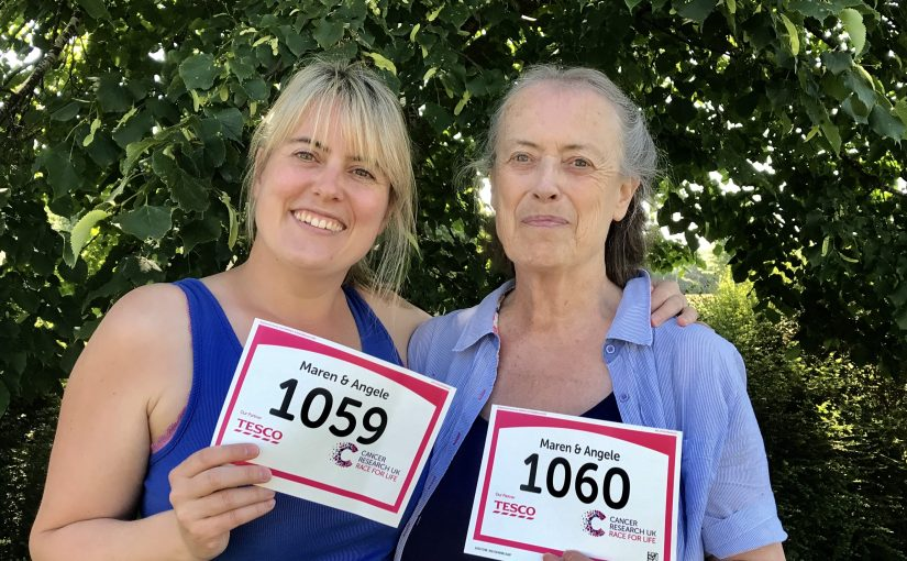 #RaceForLife – this year we are a mother + daughter team