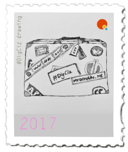 One of the stamps I made