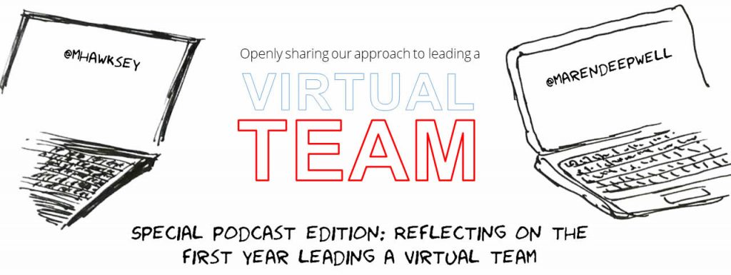 Cover image: Special Podcast Edition: Reflecting on the first year leading a virtual team
