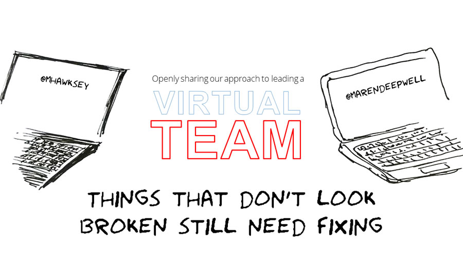 Things that don't look broken still need fixing